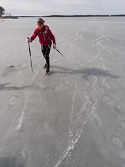 Dags att lämna isen (David Thyberg) Tags: 2018 långfärdsskridsko winter nature skate sweden stockholm skating ice sverige