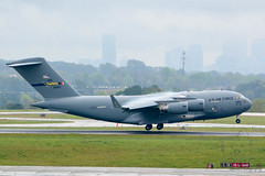 SZP_9918_pslr5 (Lakeside Annie) Tags: 04072018 2018 20180407 55300mm 55300mmf4556 ang airforce airnationalguard april7 c17 cdia clt charlotte charlotteairnationalguard charlottedouglasinternationalairport charlottenc d7100 leannefzaras nikkor55300mmf4556 nikkor55300mm nikon nikond7100 northcarolina northcarolinaairnationalguard sarazphotography saturday airport plane planespotting