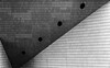 Black Holes (Leipzig_trifft_Wien) Tags: abstract architecture monochrome black white bnw bw city urban building facade texture repeating grey form shape geometry composition design