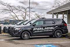 Medina Police Department 2018 Ford Police Interceptor Utility SUV (andrewkim101) Tags: medina police department 2018 ford interceptor utility suv king county wa washington state