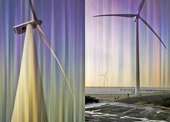 Au pied des éoliennes, Deltapark Neeltje Jans, Zeelande, Nederland (claude lina) Tags: claudelina nederland hollande paysbas zeeland éolienne zeelande