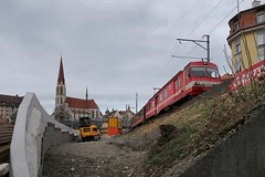 Appenzeller Bahnen - End of traditional Ruckhalde line 2018