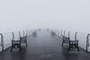 Pier Mist (steveniceton.co.uk) Tags: saltburn saltburnbythesea saltburnpier saltburnnorthyorkshire northyorkshire northyorkmoors northeastengland northsea england uk unitedkingdom teesside whitby mist fog water pier ocean
