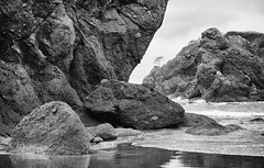 Point of the arches (D. Inscho) Tags: olympiccoast pointofthearches washingtoncoast usa pacificnorthwest backpack seastack beach