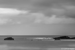 Laguna Beach - Harmony_B&W_6189 (www.karltonhuberphotography.com) Tags: 2016 californiacoastline calm clouds freshair grayday graysky horizontalimage karltonhuber lagunabeach longexposure melancholy moody morninglight ocean oceanbreeze offshorerocks outdoors pacificocean peaceful relaxing sea seascape shorelinerocks silkywater sky smoothwater softlight somber southerncalifornia tranquil water