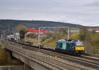 68025 'Superb' at Penrith