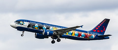 22659 OO-SND Brussels SMERF A320-214 EGCC MAN UK (melbettsimages) Tags: ringway egcc manchester man manchesterairport england uk unitedkingdom aviation airbus oosnd brussels brusselesairlines smerf a320 a320200