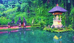 Peace Shrine (dodagp) Tags: indonesia islands bali gunungkawi candis balinesespirituality reflectiveshrines thespiritualsideofbali peacelove