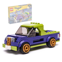 70906 alternate pickup (KEEP_ON_BRICKING) Tags: lego joker pickup car custom design moc mod dark purple 2018 new speed build speedchampions vehicle conceptcar awesome legocity city keeponbricking