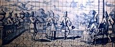 Dance lesson (1707) - Willem vand der Kloet (1666-1747) (pedrosimoes7) Tags: willemvandderkloet amsterdam netherland dutchtiles nationaltilesmuseum xabregas lisbon portugal museu musée museum azulejo artgalleryandmuseums violin ✩ecoledesbeauxarts✩ shockofthenew artdigital awardtree