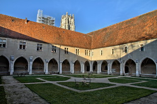 Brou Monastery - The Great Cloister