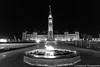 Parliament Hill at Night (umakantht) Tags: ottawa ontario canada ca parliament hill night flame d800 nikkor20mmf18g
