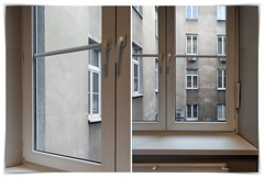 the truth of many windows (kazimierz.pietruszewski) Tags: abstract form composition digipaint digitalart concept graphic border diptych 21 wall windows truth