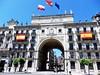 Sede Banco Santander - Santander. (Eduardo OrtÍn) Tags: bandera banco pasaje santander cantabria