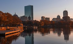 Sunset on the Esplanade - Boston (thephotobear) Tags: esplanade sunset boston charlesriver