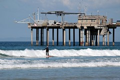 Smiling Surfette (zeesstof) Tags: zeesstof california sandiego vacationdestination vacation photographyassignment lajolla beach seafront scrippsbeach