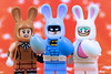 An Egg-ceptional Easter Baturday (Lesgo LEGO Foto!) Tags: lego minifig minifigs minifigure minifigures collectible collectable legophotography omg toy toys legography fun love cute coolminifig collectibleminifigures collectableminifigurebatmanmovie thebatmanmovie batman movie easterbunny easterbunnybatman easter bunny rabbit egg eggs joker march harriet marchharriet easteregg eastereggs