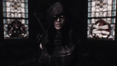 Cursed Temple (Loneranger05) Tags: skyrim evil character darkend forsaken church vampire serana harkon valerica haunted sanguinare vampiris dawnguard molag bal volkihar undead vigilant stendarr