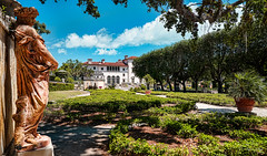 In the gardens of magical goblins and elves. (Aglez the city guy ☺) Tags: vizcayamuseumgardens northeastcoconutgrove gardens statue decoration trees architecture afternoon urbanexploration unitedstates intheshade walkingaround building outdoors