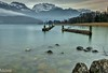 Le lac d'Annecy (paul.porral) Tags: longexposure poselongue lake water landscape lanfschaft nature flickr ngc waterscape france lacdannecy outside wasser winter snow mountain alps alpes