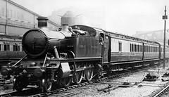 glc - gwr 6100 leaving paddington 13-6-1931 (johnmightycat1) Tags: railway gwr london clerestorycoachukstock