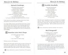 Home For The Holidays Volume 5 2001 PH0099 20 (Eudaemonius) Tags: ph0099 home for the holidays volume 5 eudaemonius bluemarblebounty cookbook cooking cook book recipe recipes 2001 beef stroganoff swedish meatballs spinach fandango boneless loin pork chop chops 20