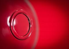 red rim (johnnyb803) Tags: macromondays circles macro glass rim bottle red jcbrown