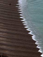 PLAGE D ETRETAT (Marie-Laure Larère) Tags: plage mer etretat