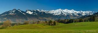 Panorama de la Gruyère (Switzerland)