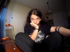 GoPro N Me! (Kostantina Skoulaxinou) Tags: people athens gopro goprohero4 goprohero4black selfie bored greeneyes girl