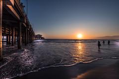 Sunset feeling in Santa Monica - California - USA (R.Smrekar-CH) Tags: sea pacific sunset pier beach california 000500 d750 smrekar usa