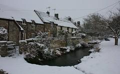 Wool Dorset -180318 (5) (ailognom2005) Tags: wool dorset oldbuildings cottages stream thatchedcottage dorsetlandscape village