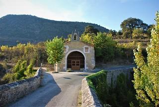 Ermita de San Antonio (Pesquera de Ebro, Castilla y León, España, 23-9-2017)