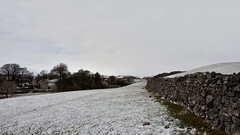 Fields of snow (42jph) Tags: snow march spring uk england yorkshire wharfedale nikon d7200 nature countryside landscape field wall drystone
