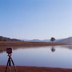 Dalat Mar '18 ([B]ear) Tags: dalat vietnam travel lanscape travelling highland empty peace alone morning lake medium format hasselblad 500cm