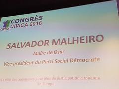 Salvador Malheiro em Paris