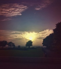 Coastal Sunset.. (RahulChandra23) Tags: followme water dusk likes evening world coast beach westindia mumbai nikkor nikon popular sunset