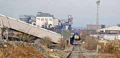 Allerton Bywater (delticfan) Tags: 56072 class56 allertonbywater coal pit colliery mgr