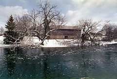 "Barn (""Photo Guy"") Tags: 35mmcolourfilm barnsandoldbuildings dgfilm200 landscape minoltaxd111155889 spencerville winterlandscape"