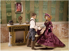 Elizabethan Era (Mary (Mária)) Tags: elizabeth elizabethan era shakespeare queeen england cateblanchett priatesfotthecaribbean renaissance jewels handmade tudors ship explorer country doiorama four divergent photography photoshoot period fashion marykorcek doll barbie mattel az challenge navigator maps diorama miniatures jewls