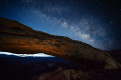 (JuanCarViLo) Tags: canyonlands national park colorado plateau landscape hike hiking moab utah milky way mesa arch nightscape space