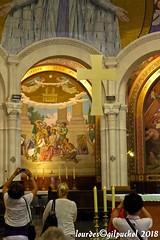Lourdes 086-A (José María Gil Puchol) Tags: aquitaine autel basilique catholique cathédrale eau eaumiraculeuse fidèle france josémariagilpuchol lourdes messe paysbasque pélèrinage religion