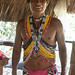 Embera man in traditional costume