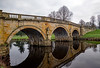 Chatsworth house bridge. (S.K.1963) Tags: elements chatsworth house bridge derbyshire peak district landscape water river olympus omd em1 mkii 7 14mm 28 pro