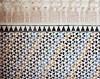 Alhambra Tilework (Jill Slater) Tags: 35mm film canonae1 canonfd fujicolorpro400h spain granada alhambra tiles tile nasridpalace