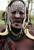 sign of beauty (rick.onorato) Tags: africa ethiopia omo valley tribes tribal mursi woman lip plate