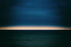 Fly Away (MikeSpeaks) Tags: ocean sea clouds horizon abstract art artsy arty sad angry water light sal70200g rothko