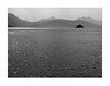 The Island (YIP2) Tags: fjord norway mountain cloud bridge naust house weather skies mountains water sea coast bw norge landscape clouds seascape mist island