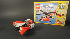 Blade Runner Inspired Hovercar 31057 Alternate Model (MCLegoboy) Tags: mclegoboy lego creator 3in1 set review 31057 air blazer helicopter seaplane catamaran hovercar moc myowncreation alternate model youtube self promotion vehicle