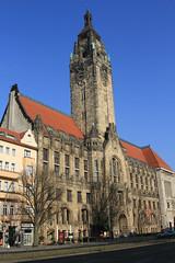 Charlottenburg Town Hall (Wild Chroma) Tags: berlin germany charlottenburg rathaus townhall street